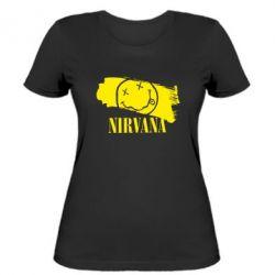 Женская футболка Nirvana Smile