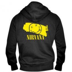Мужская толстовка на молнии Nirvana Smile