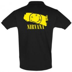 Футболка Поло Nirvana Smile - FatLine