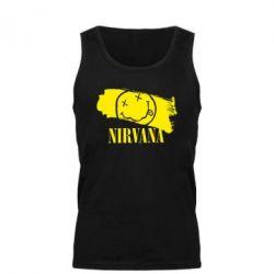 Мужская майка Nirvana Smile - FatLine