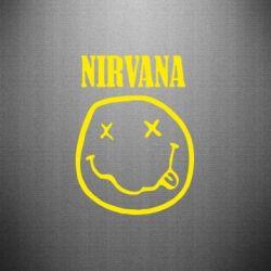 Наклейка Nirvana (Нірвана) - FatLine