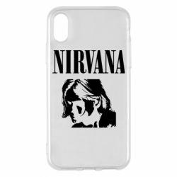Чохол для iPhone X/Xs Nirvana