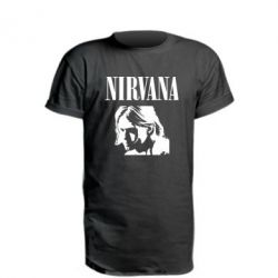 Подовжена футболка Nirvana