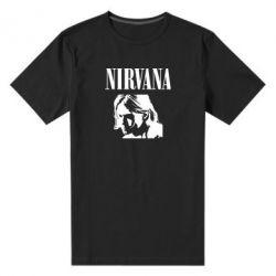 Чоловіча стрейчева футболка Nirvana