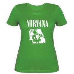 Жіноча футболка Nirvana