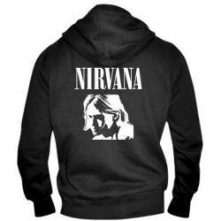 Чоловіча толстовка на блискавці Nirvana