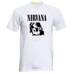 Чоловіча спортивна футболка Nirvana