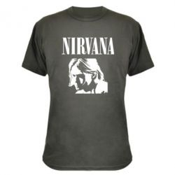 Камуфляжна футболка Nirvana
