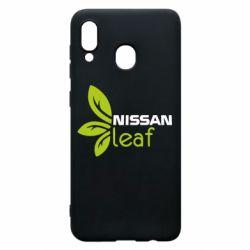 Чехол для Samsung A20 Nissa Leaf