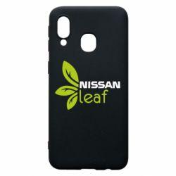Чехол для Samsung A40 Nissa Leaf