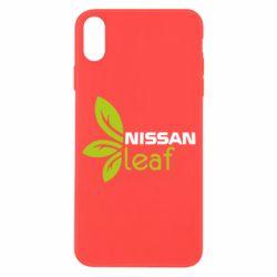 Чехол для iPhone X/Xs Nissa Leaf