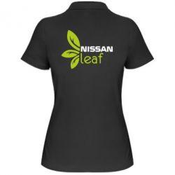 Женская футболка поло Nissa Leaf - FatLine