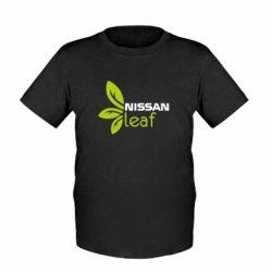 Детская футболка Nissa Leaf - FatLine