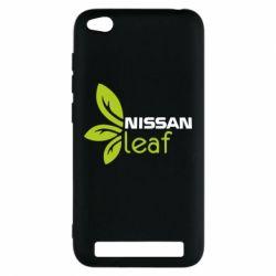 Чехол для Xiaomi Redmi 5a Nissa Leaf