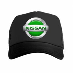 Кепка-тракер Nissan Green