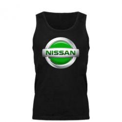 Мужская майка Nissan Green