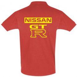 Футболка Поло Nissan GT-R - FatLine