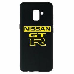Чохол для Samsung A8+ 2018 Nissan GT-R