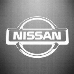 Наклейка Nissan Логотип