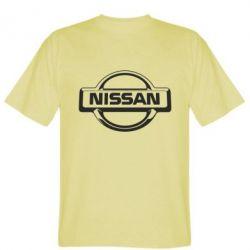 Мужская футболка Nissan Logo - FatLine