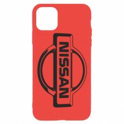 Чохол для iPhone 11 Pro Nissan Логотип