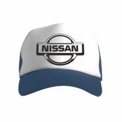 Дитяча кепка-тракер Nissan Логотип