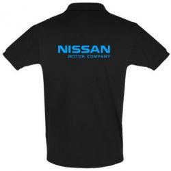 Футболка Поло Nissan Motor Company - FatLine