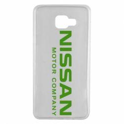 Чохол для Samsung A7 2016 Nissan Motor Company