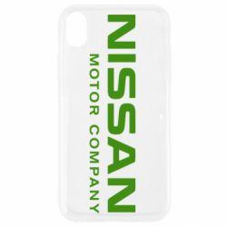 Чохол для iPhone XR Nissan Motor Company