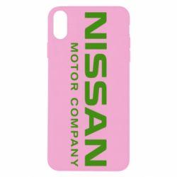 Чохол для iPhone Xs Max Nissan Motor Company
