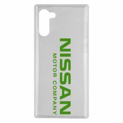 Чохол для Samsung Note 10 Nissan Motor Company