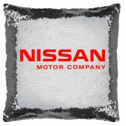 Подушка-хамелеон Nissan Motor Company