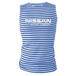 Майка-тельняшка Nissan Motor Company - FatLine