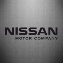 Наклейка Nissan Motor Company - FatLine