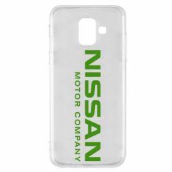Чохол для Samsung A6 2018 Nissan Motor Company