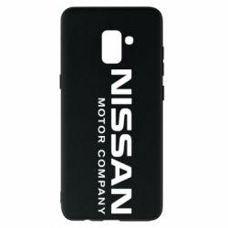 Чохол для Samsung A8+ 2018 Nissan Motor Company