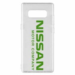 Чохол для Samsung Note 8 Nissan Motor Company