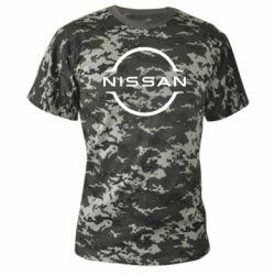 Камуфляжна футболка Nissan new logo