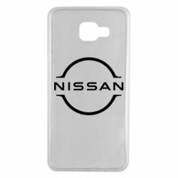 Чохол для Samsung A7 2016 Nissan new logo