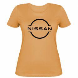 Жіноча футболка Nissan new logo