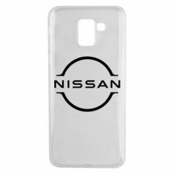 Чохол для Samsung J6 Nissan new logo