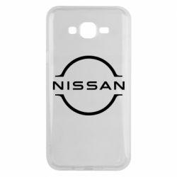 Чохол для Samsung J7 2015 Nissan new logo