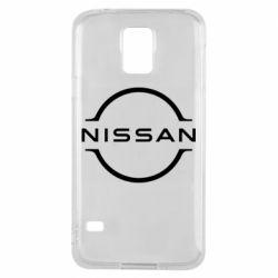 Чехол для Samsung S5 Nissan new logo