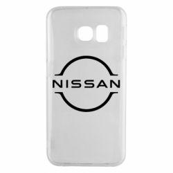 Чехол для Samsung S6 EDGE Nissan new logo