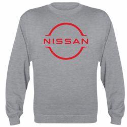Реглан (світшот) Nissan new logo