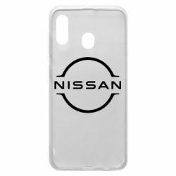 Чохол для Samsung A20 Nissan new logo