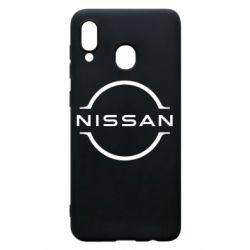 Чохол для Samsung A30 Nissan new logo