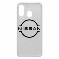 Чехол для Samsung A40 Nissan new logo