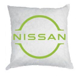 Подушка Nissan new logo