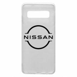 Чехол для Samsung S10 Nissan new logo
